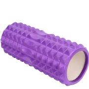 Strauss Grid Foam Roller, 45cm Purple
