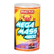 Matrix Nutrition Mega Mass 4600,  Chocolate  2.2 lb