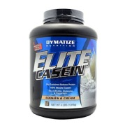 Dymatize Elite Casein,  4 lb  Cookies & Cream