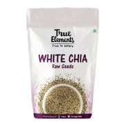 True Elements Raw White Chia Seeds  0.250 kg Unflavoured