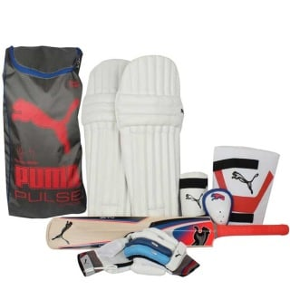 PUMA Pulse Junior Cricket Kit,  Junior  Kashmir Willow