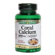Nature's Bounty Coral Calcium (1000 mg),  120 capsules  Unflavoured