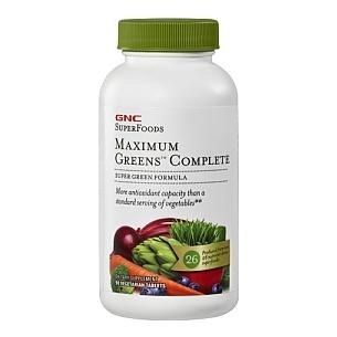 GNC SuperFoods Maximum Green Complete 90 veggie capsule(s