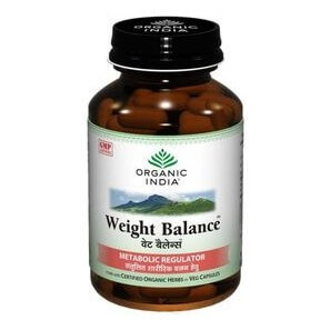 Organic India Weight Balance,  60 capsules  Unflavoured