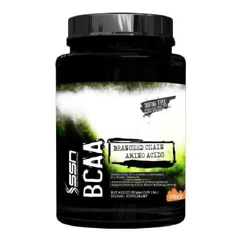 SSN BCAA,  0.5 lb  Orange