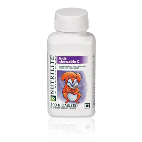 Amway Nutrilite Kids Chweable C,  Unflavoured  100 chewable tablet(s)