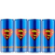 Superman Energy Drink 250 ml Apple Pack of 4