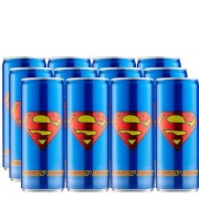 Superman Energy Drink 250 ml Apple Pack of 12