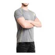 Fitup Life Solid Men Round Neck Reversible T Shirt