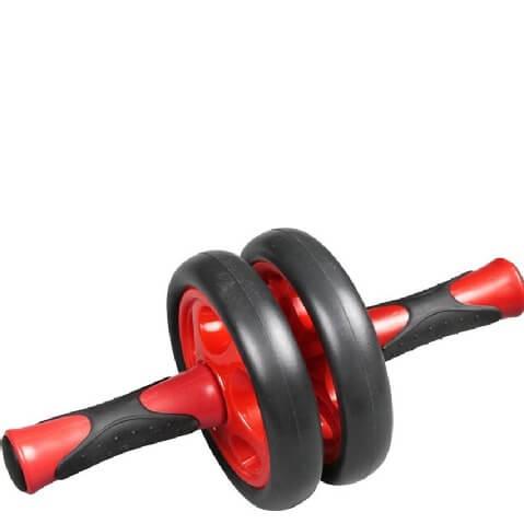 B Fit USA Dual Style AB Wheel Plus (3457),  Red & Black  500 g