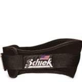 Schiek Workout Belt 6 Inch,  Black  Small