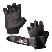 Schiek Platinum Gel Lifting Gloves,  Black  Small