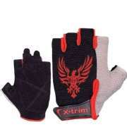 Xtrim Pro Grip Real Leather Gym Training Gloves for Men