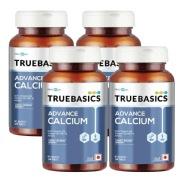 TrueBasics Advance Calcium 30 tablet s  Unflavoured   Pack Of 4