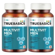 TrueBasics Multivit Men 30 tablet s  Unflavoured   Pack Of 2