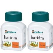 Himalaya Haridra 60 capsules Pack of 2