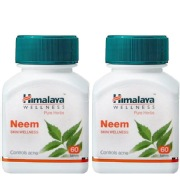 Himalaya Neem 60 tablet s  Pack of 2