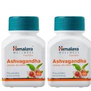 Himalaya Ashvagandha 60 tablet s  Pack of 2
