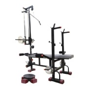 Sporto Fitness 20 in 1 Bench with Twister for Gym Exercise 2X2 ERP Super Pipe