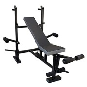 Sporto Fitness 8 in 1 Multi Purpose Weight Home Gym Exercise Bench Press