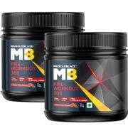 MuscleBlaze PRE Workout 300 Melon Twist   Pack of 2